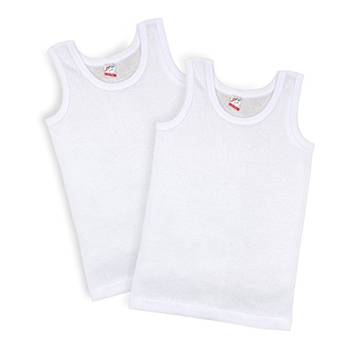 Kid U Not By Brix Toddler Kids Boys Turkish Cotton Ribbed Comfort Tank Tops. (3/4 years)