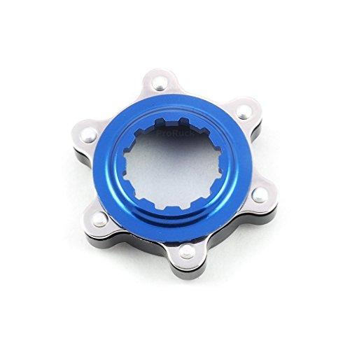 ProRuck MTB Centerlock to 6-Bolt Rotor Adapter, Aluminum Center-Lock Adapter for Converting Shimano Center-Lock hubs to fit 6-Bolts ()