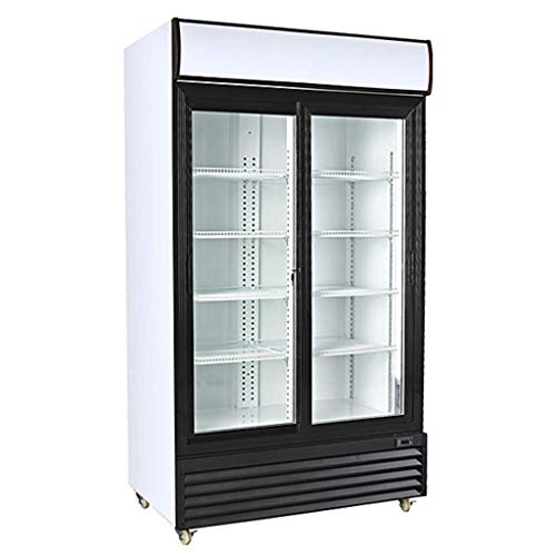 "Procool Refrigeration Double Sliding Glass 2 Door Upright Display Beverage Cooler Merchandiser; 35 Cubic Ft, 45"" Wide from Procool Refrigeration"