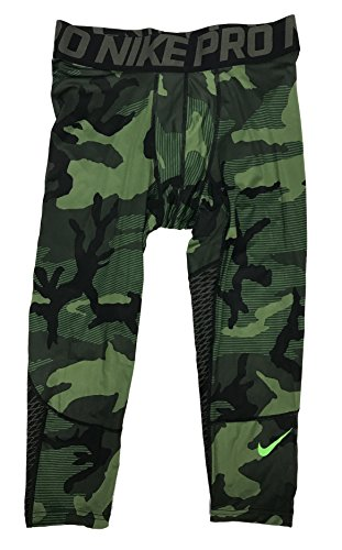 (Nike Pro Hypercool 3/4 Camo Compression Pants 848863 325 Small)
