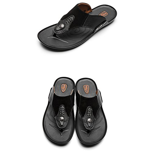 Pingenaneer Classiques Hommes Sandales Beach Chaussures Antidérapant Flip  Flops Tongs well-wreapped 1fb9c5f4d4e6