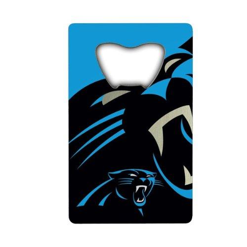 Carolina Panthers Nfl Bottle Opener - NFL Carolina Panthers Credit Card Style Bottle Opener