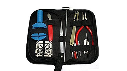 SoLed Newest Watch Repair Tool Kit Set 16 Pcs Watch Link Opener Repair Remover Case Tool Kit - Link Eyewear