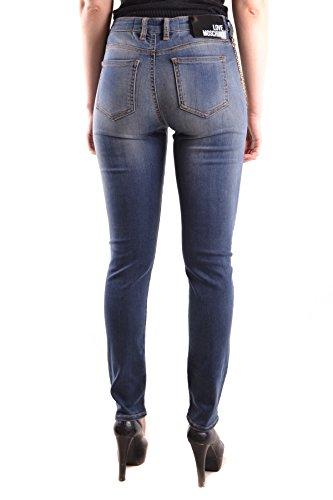 Bleu Femme MCBI214037O Love Moschino Jeans Coton 7pqRfwv