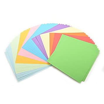 Amazon Origami Paper Set 100piecesset Diy Color Paper Origami