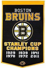 Boston Bruins 24x36 Wool Dynasty Banner