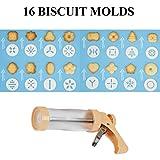 Cookie Press Gun Kit for Cookies Biscuit Churro
