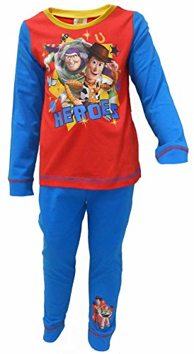 Disney Toy Story Buzz & Woody Heroes Boys Pajamas 3-4 Years