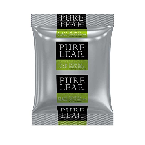 Pure Leaf Citrus Green Tea, 3 Ounce -- 24 per case. by Pure Leaf