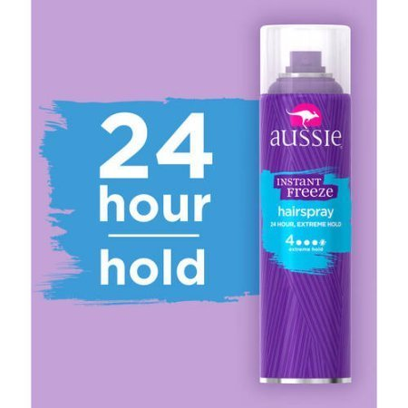 2 Pack of Aussie Instant Freeze Hairspray, 7 oz, ea