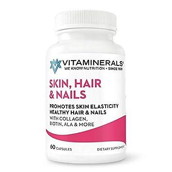 Amazon Com Vitaminerals 217 Skin Hair Nails Promotes Skin
