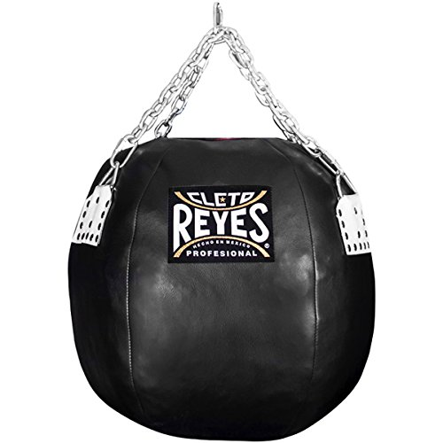 Cleto Reyes 22'' Diameter Body Snatcher Vinyl Leather Round Bag - Black by Cleto Reyes