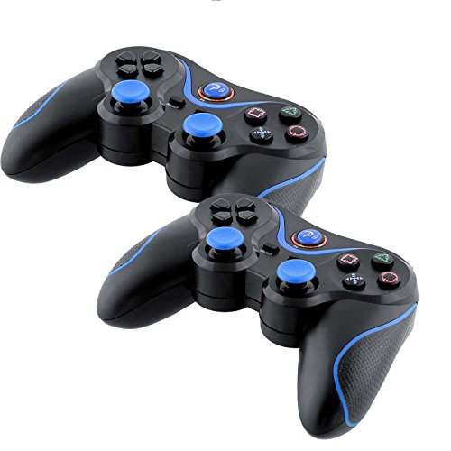 Phantomx Lot of 2 New Wireless Bluetooth Game Controllers For Sony PS3