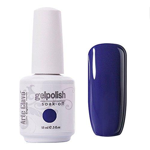 Arte Clavo Navy Blue Nail Gel Polish Harmless Resin Professi