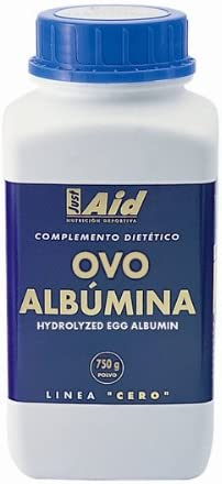 Just Aid Ovo-Albumina 0 750Grpolvo - 1 unidad: Amazon.es ...