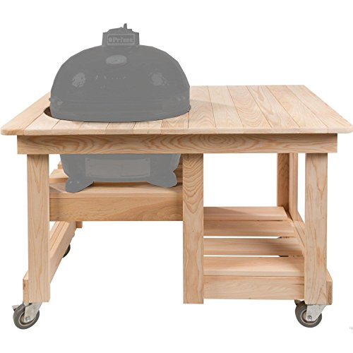 - Primo 613 Grill Table, Large, Natural