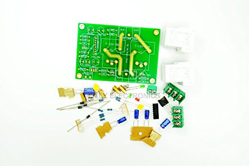 DIY Kit IC1237 Speaker Protection Board 30A AC12V-18V for Class A Amplifier by Lilly Electronics