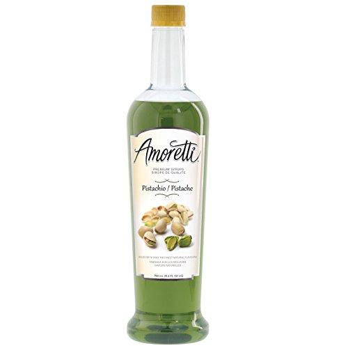 Amoretti Premium Syrup Pistachio 254 Ounce