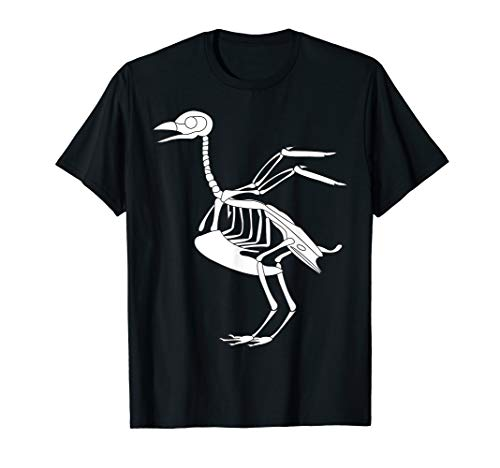 Chicken Bones Funny Outfits For Halloween Skeleton Tee -