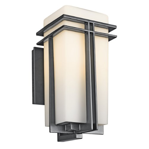 Kichler Lighting 49201BK Tremillo Satin Etched