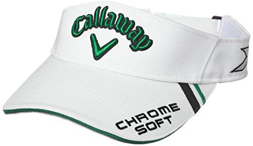 エンディングたくさんの徹底(キャロウェイ) Callaway 定番 ロゴ入り バイザー (ツアーモデル) 帽子 ゴルフ/247-7990500 < メンズ >