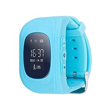 Sécurité Mania - Montre connectée pour Enfants/Smart Watch - Turquoise