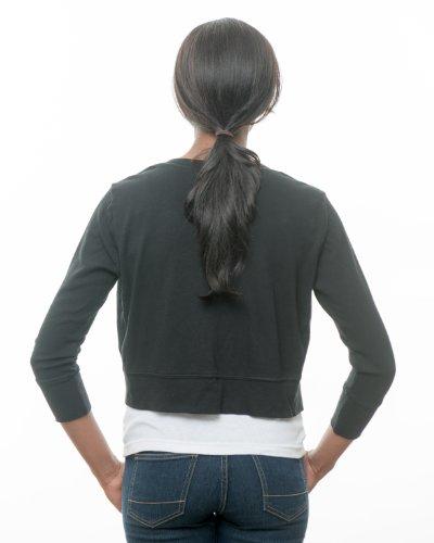 Secret Sweater Women's Packable 'Secret' Layering Cardigan M Black by Secret Sweater (Image #3)