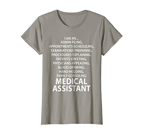 Womens Medical Assistant Blood Drawing Hand Holding T-Shirt Medium (Drawing Hands T-shirt)