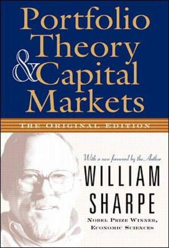 Portfolio Theory and Capital Markets (William F Sharpe)