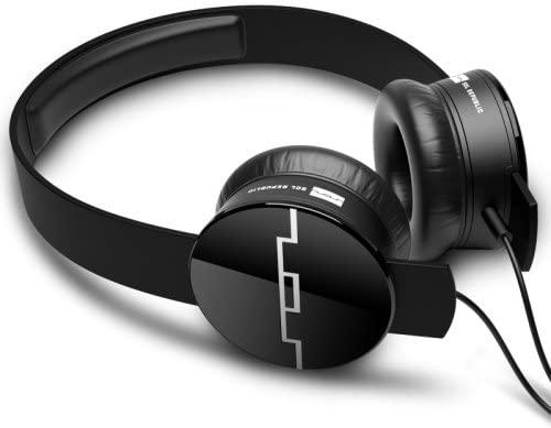 SOL REPUBLIC Tracks On-Ear Headphones -M4DE – Onyx – Single-Button