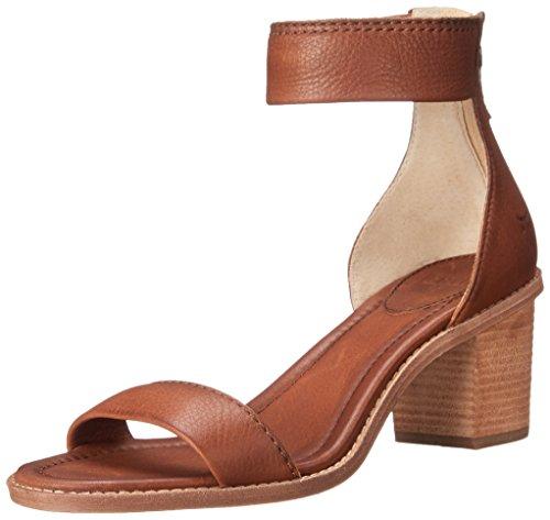 Sandal Sandalias Back Mujer vestir de Brielle Whiskey Zip 72158 Frye atx7A7