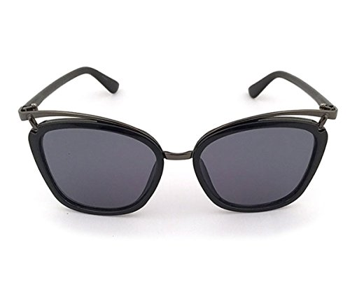 Heartisan Special Full Frame Anti-UV Flash Mirror Unisex Sunglasses - Lentes Miu Miu