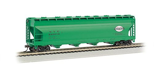 - Bachmann Trains New York Central-Jade Green 56' Acf Center-Flow Hopper-Ho Scale