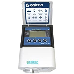 Galcon 8056S AC-6S 6-Station Indoor Irrigation or Outdoor Seconds Operation Controller
