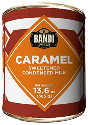 Caramel Sweetened Condensed Milk with easy opener 12 pack