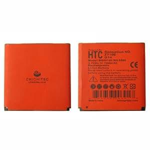 CHICHITEC T-mobile AT&T HTC Sensation 4G Cellphone 1900 mAh Battery Slim Design Longer life than OEM also for G14 Z710E BG58100 BA S560
