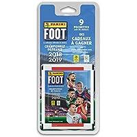 Panini 9 Pochettes, Foot Championnat de France Stickers 2018-2019, 2428-038