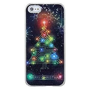 Cambio de sentido nuevo llamamiento flash de luz LED de Navidad ¨¢rboles de color de la cubierta para el iphone 5