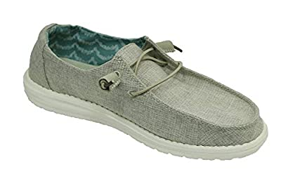Hey Dude Women's Wendy Chambray Loafer