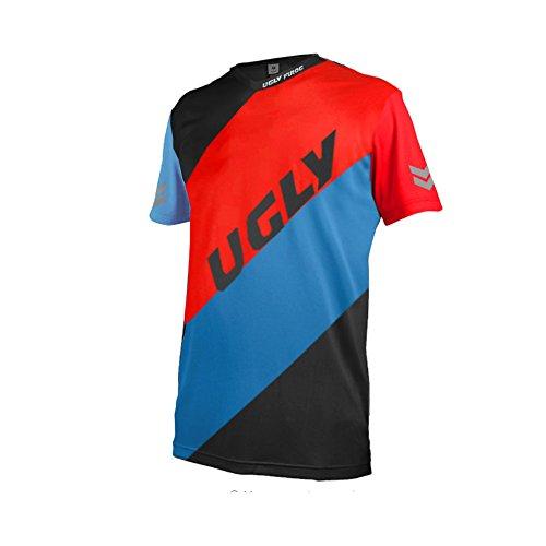 Price comparison product image Uglyfrog MT14 Designs Bike Wear Men's Downhill Jersey Summer Short Sleeve Rage MTB Cycling Top Cycle Motocross Mountain Bike Shirt