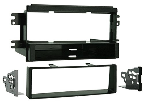 Kia Spectra Radio - Metra 99-7318 Single DIN Installation Kit with Pocket for 2005-2006 Kia Spectra