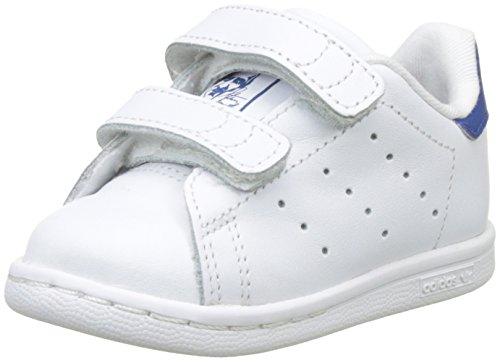 adidas Unisex Baby Stan Smith Sneaker Weiß (Footwear White/footwear White/eqt Yellow)