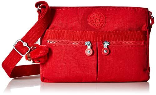 Kipling Women's Angie Crossbody Bag, Cherry - Kipling Cherry