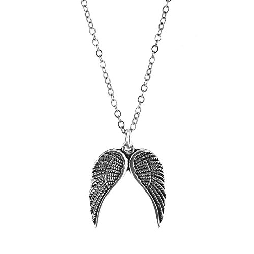 [Small Angel Wings Necklace] (Fallen Angel Costume)