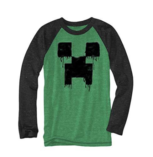 Minecraft Graphic Tee - Creeper - Size 4/5 Black, Green
