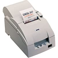Epson C31C517653 TM-U220PB Receipt Printer Parallel Interface Cutter Solid CV and PS-180 Power Supply - Color Dark Gray