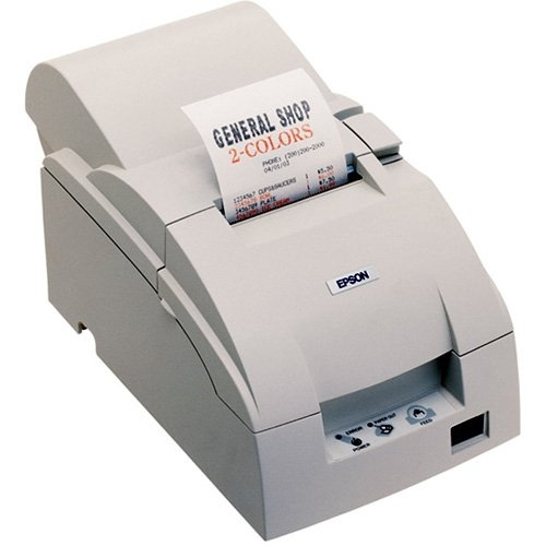 TM-U220B, Impact, two-color printing, 6 lps, Serial interface only, Power supply, Dark gray by Epson