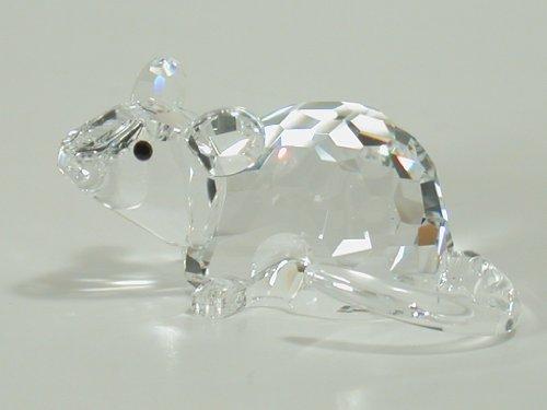 Swarovski Crystal Figurine, Zodiac Rat, -