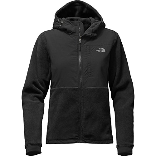 (The North Face Denali Hoodie Jacket - Women's TNF Black/TNF Black Small)