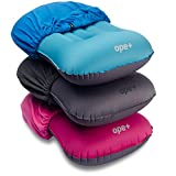 OpePlus Inflatable Camping Pillow Set – Camp, Travel, Backpacking Ultralight and Hiking Blow Up Pillow with Outdoor Soft Cotton Cover for Sleeping – Also Suitable as Lumbar Support Review